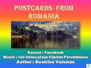 POSTCARDS  FROM  ROMANIA