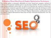 Utilization These Ideal Search Engine Optimization Techniques