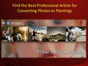 Find the Best Professional Artists for Converting Photos to Paintings