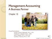 #16.1 -- Principles of Management Accounting (4.11)