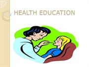 Importance Of Health Education Community And Systemic Strategies