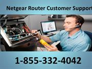 Netgear Router Tech Support Number 1-855-332-4042 Netgear Router Custo