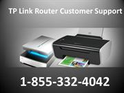 TP Link Router Tech Support Number 1-855-332-4042 TP Link Router Custo