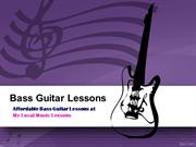Best Bass Guitar Lessons and Guitar Lessons in Lafayette Co-ppt
