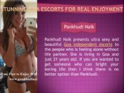 Stunning Goa Escorts for Real Enjoyment