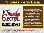Thomaselectrical-Electrician Mansfield