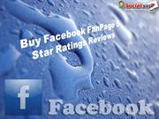 Buy Facebook FanPage 5 Star Ratings Reviews