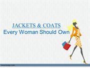 Different Types of Coats and Jackets Women