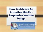 How to Achieve An Attractive Mobile Responsive Website Design