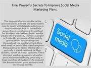 Benefits Of Using Social Media For Your Business.