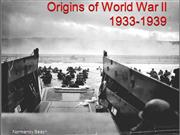 Origins of World War II