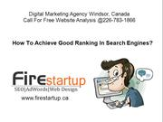 SEO Ranking Factors in 2016 - Fire Startup