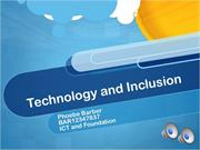 inclusion and ict