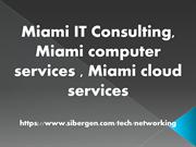 Miami cloud services, Miami computer services