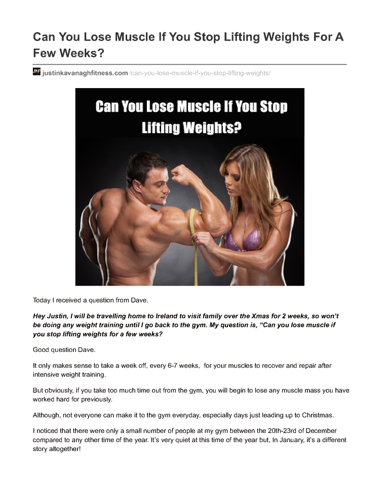 Can You Lose Muscle 87
