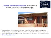 hiscope builders melbourne leading new home builders and house designs