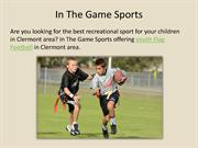 In the game sports - Youth Flag Football