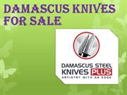 Damascus Knives for Sale