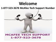 1-877-523-3678 McAfee Tech Support Number
