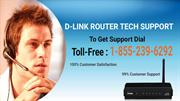Dlink Tech Support Number 1-855-239-6292
