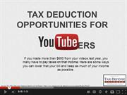 Top Tax Deduction Opportunities For Youtubers