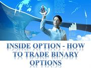 Inside Option - How to Trade Binary Options