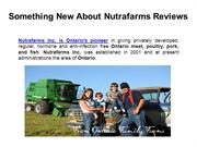 Nutrafarms Reviews - Something New About Nutrafarms Reviews