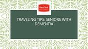 Traveling Tips: Seniors with Dementia