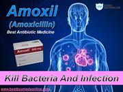 Buy Amoxil 250mg, 500mg Online To Treat Bacterial Infection