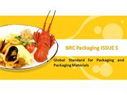 BRC Packaging ISSUE 5 Certification