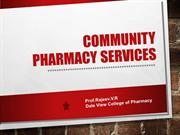 Community  Pharmacy -Indian scenario