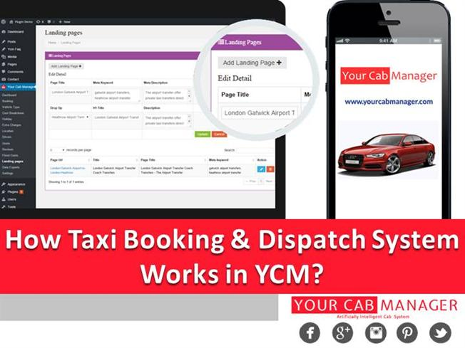 How Taxi Booking And Dispatch System Works in YCM? |authorSTREAM