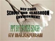 ncf scool and classroom environment
