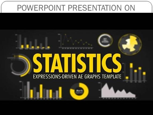 statistics powerpoint template