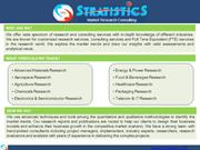 Advanced Materials Market Research Reports, Analysis & Consulting