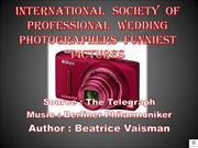 International Society of Professional Wedding Photographers funniest p