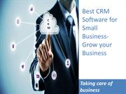 Best CRM Software for Small Business,Customer Relationship Management