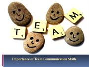 Importance Of Team Communication