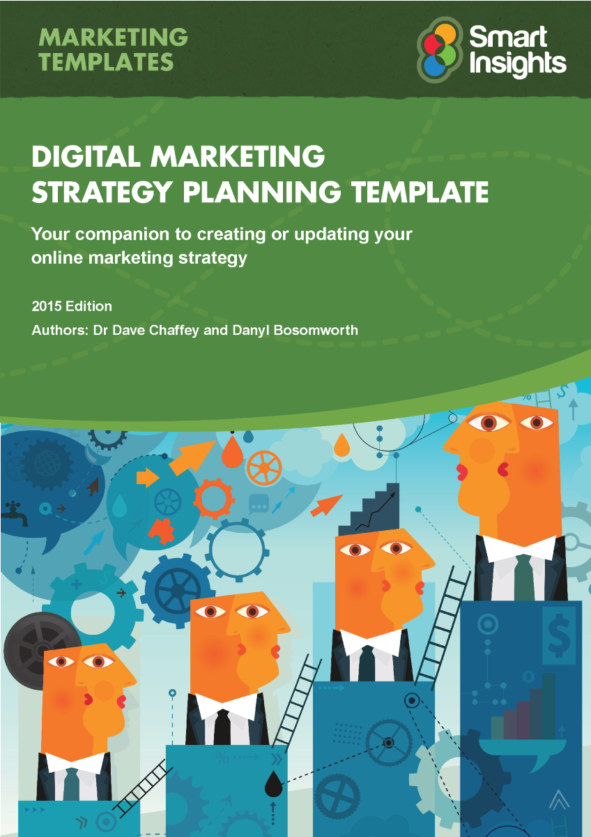 promotional strategy template - digital marketing plan template smart insights authorstream