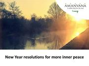 New Year Resolutions For More Inner Peace