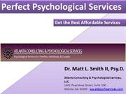 Psychological Services By Dr Matt Smith