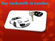 Car Locksmith in London