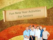 Fun New Year Activities For Seniors