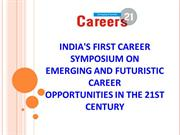 Careers21 - Biggest Symposium in Kolkata