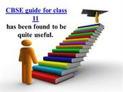 CBSEguide for class 11have been useful to many