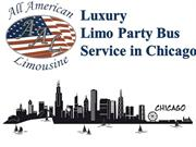 Hire Luxury Limousine Party Bus Service in Chicago