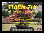 THIỀN THI (900 AD - 1400 AD) PPS