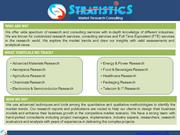 Electronics & Semiconductor Market Research