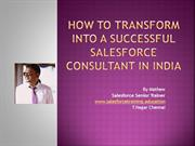 How to transform into a Successful Salesforce Consultant