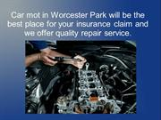 Car repairs in Worcester Park may repair your car's bodywork